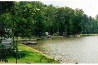Lake and shore line