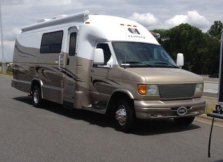camper van style motor home