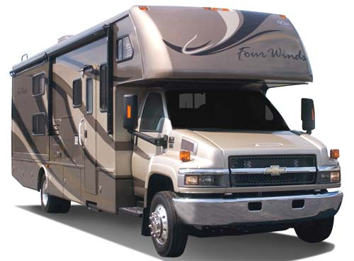 Class c rv economical transportation plus extras for Used motor homes class c