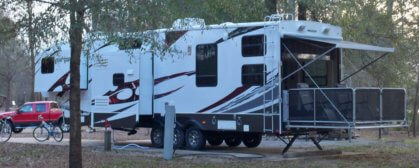 fifth wheel camper
