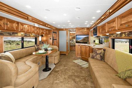 Allegro RV interior